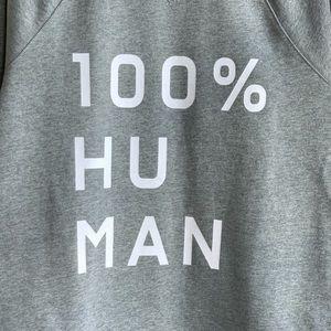 Everlane Shirts - Everlane 100% Human graphic sweatshirt NWOT